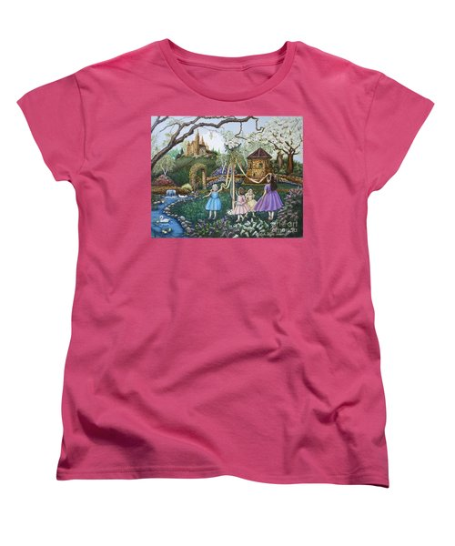Mayday Serenade  Women's T-Shirt (Standard Cut) by Linda Simon