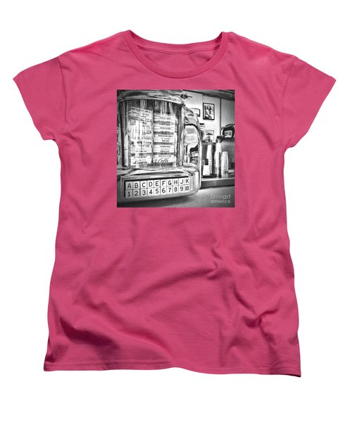 Name That Tune Women's T-Shirt (Standard Cut) by Peggy Hughes