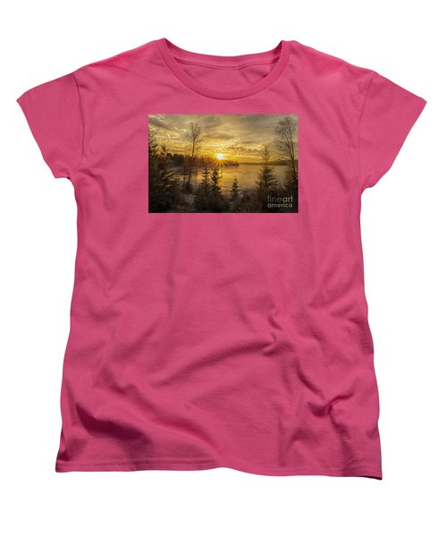 Women's T-Shirt (Standard Cut) featuring the photograph Norway by Rose-Maries Pictures