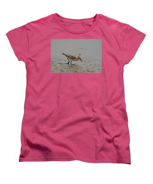 Women's T-Shirt (Standard Cut) featuring the photograph Semipalmated Sandpiper by James Petersen