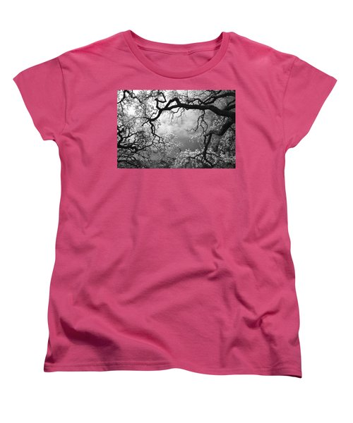 Sheltering Sky  Women's T-Shirt (Standard Cut) by Laurie Search