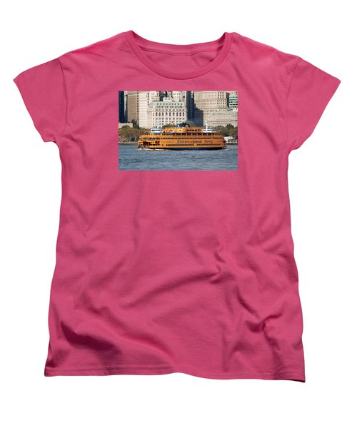 Staten Island Ferry Women's T-Shirt (Standard Cut)