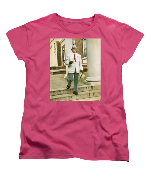 Women's T-Shirt (Standard Cut) featuring the photograph William Faulkner (1897-1962) by Granger