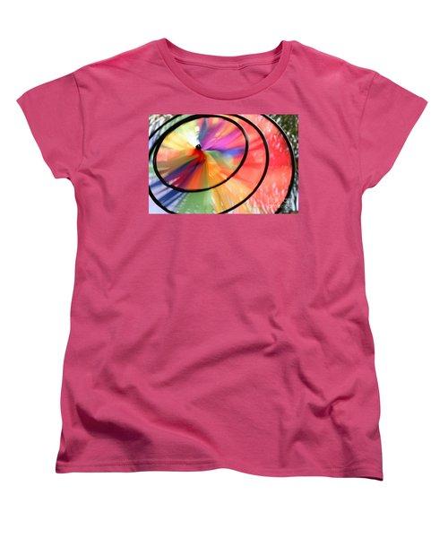 Women's T-Shirt (Standard Cut) featuring the photograph Wind Wheel by Henrik Lehnerer