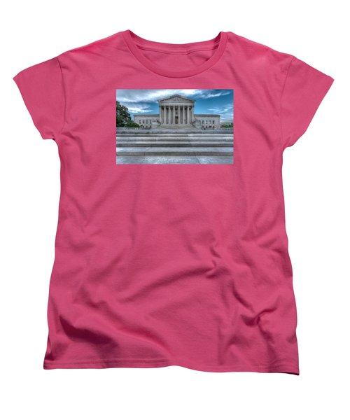 Women's T-Shirt (Standard Cut) featuring the photograph Supreme Court by Peter Lakomy