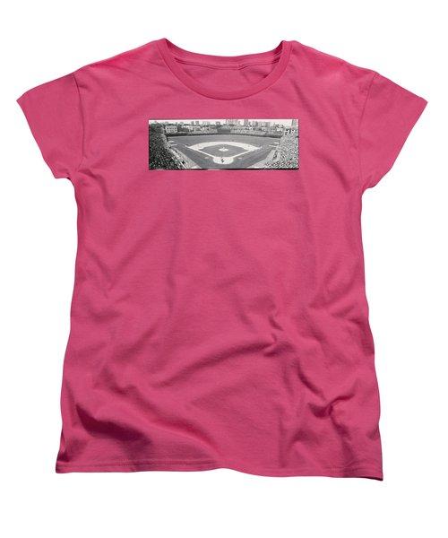 Usa, Illinois, Chicago, Cubs, Baseball Women's T-Shirt (Standard Cut)