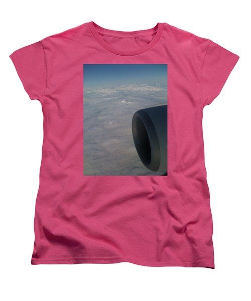33000 Feet Women's T-Shirt (Standard Cut) by Mark Alan Perry