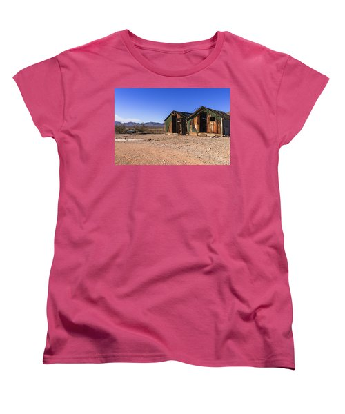 Death Valley Women's T-Shirt (Standard Cut) by Muhie Kanawati