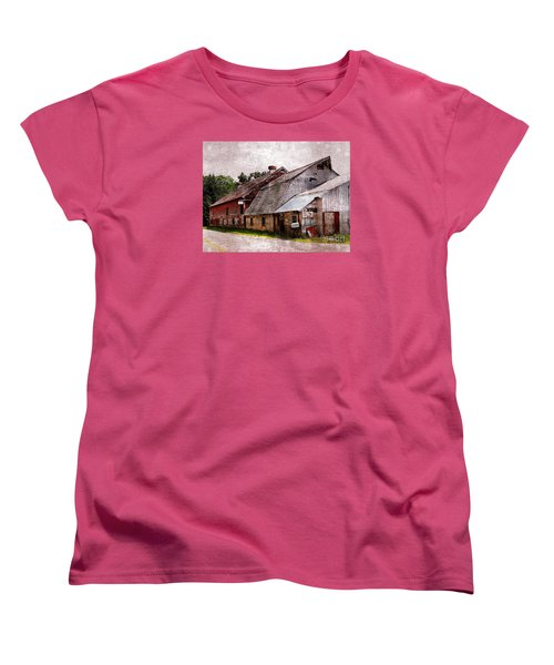A Barn With Many Purposes Women's T-Shirt (Standard Cut) by Marcia Lee Jones