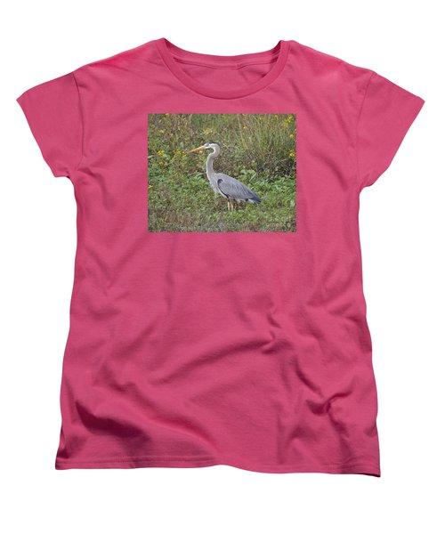 A Bird In A Bush Women's T-Shirt (Standard Cut) by Carol  Bradley