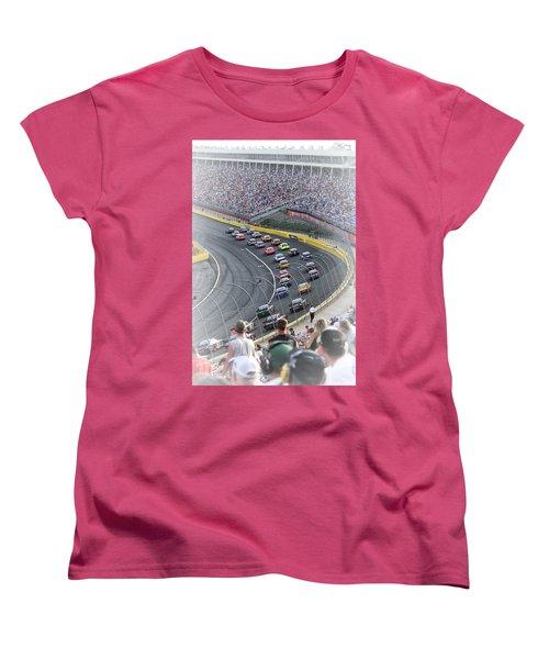 A Day At The Racetrack Women's T-Shirt (Standard Cut)