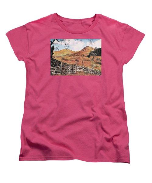 A Day In The Country Women's T-Shirt (Standard Cut) by Sophia Schmierer