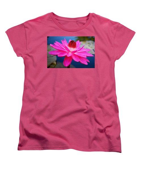 A Flower And A Dream... Women's T-Shirt (Standard Cut) by Melanie Moraga