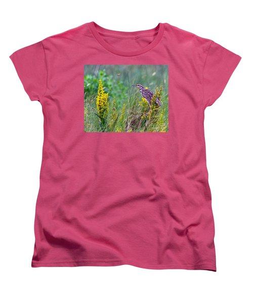A Golden Opportunity Women's T-Shirt (Standard Cut) by Gary Holmes