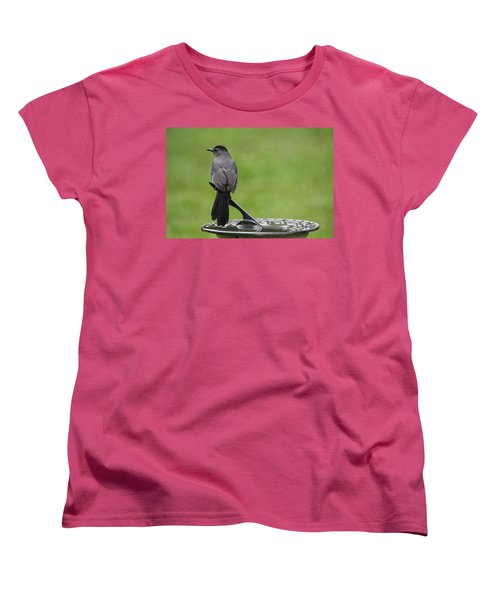 Women's T-Shirt (Standard Cut) featuring the photograph A Moment In Time by Trina  Ansel