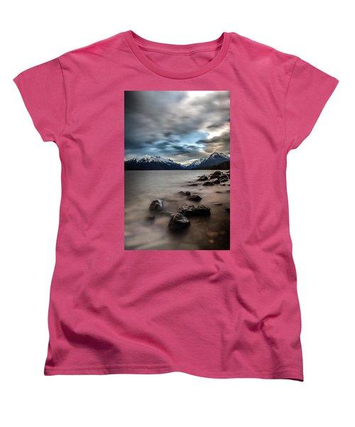 A Patch Of Blue Women's T-Shirt (Standard Cut) by Aaron Aldrich