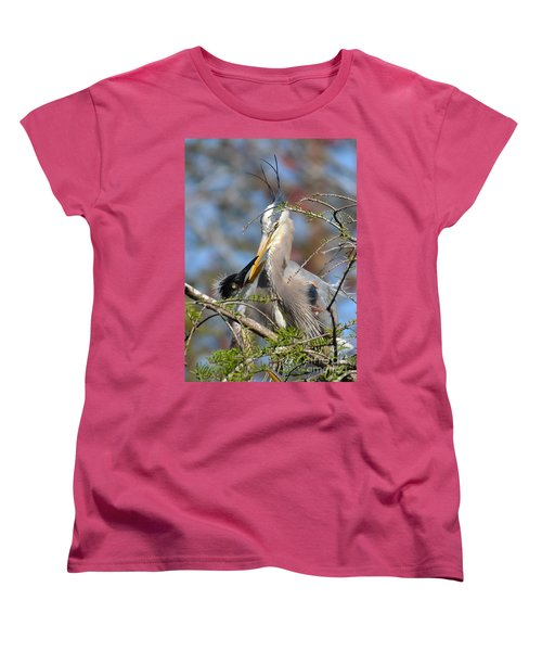 A Special Moment Women's T-Shirt (Standard Cut) by Kathy Baccari