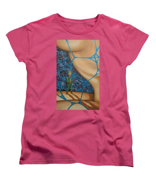 A Spelunkers Search For Life Women's T-Shirt (Standard Cut)
