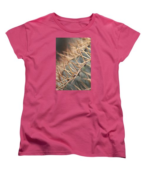 A Spiny Situation Women's T-Shirt (Standard Cut) by Amy Gallagher