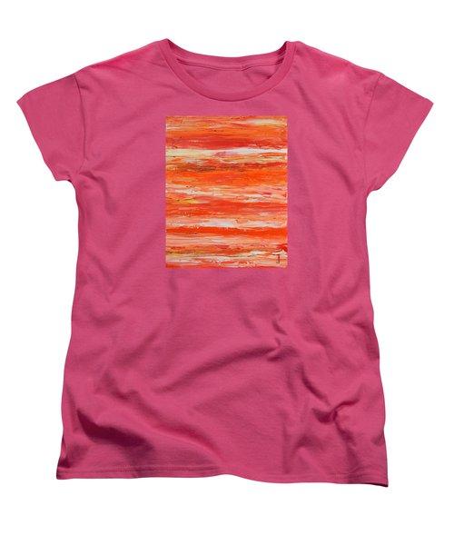 A Thousand Sunsets Women's T-Shirt (Standard Cut) by Donna  Manaraze