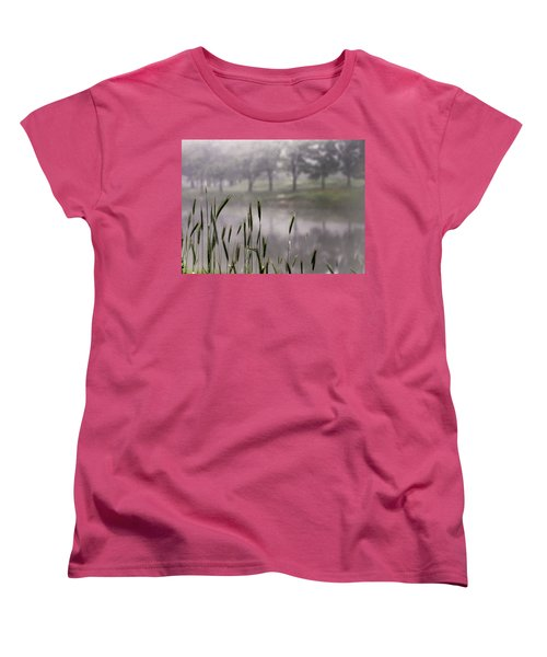A View In The Mist Women's T-Shirt (Standard Cut) by Bruce Patrick Smith