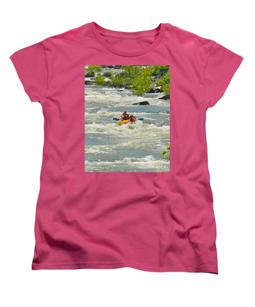 A Wild Ride Women's T-Shirt (Standard Cut) by Carol  Bradley