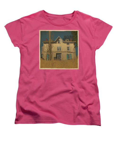 Abandoned Women's T-Shirt (Standard Cut) by Meg Shearer