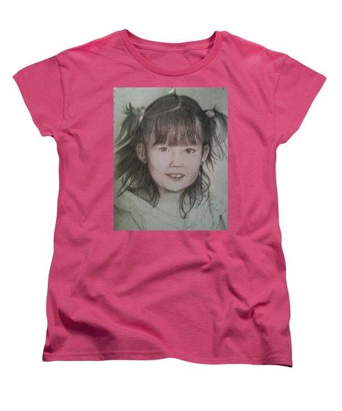 Abigail  Women's T-Shirt (Standard Cut) by Hae Kim