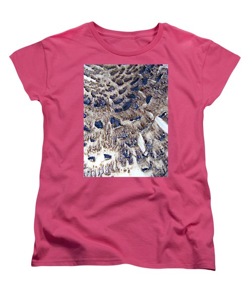 Abstract Accidental Sapphires Women's T-Shirt (Standard Cut) by Linsey Williams