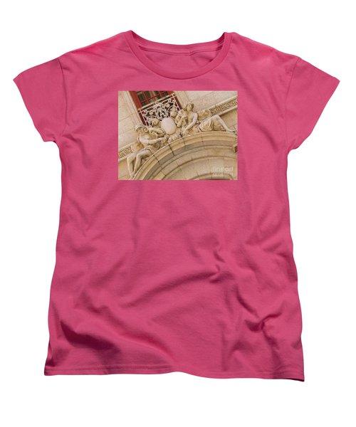 Women's T-Shirt (Standard Cut) featuring the photograph Adolphus Hotel - Dallas #3 by Robert ONeil