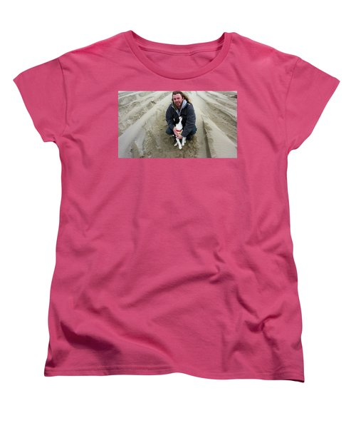 Women's T-Shirt (Standard Cut) featuring the photograph Adoring Look by Susan Garren