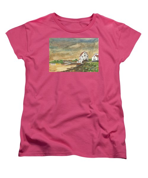 Women's T-Shirt (Standard Cut) featuring the painting After The Storm by John Williams