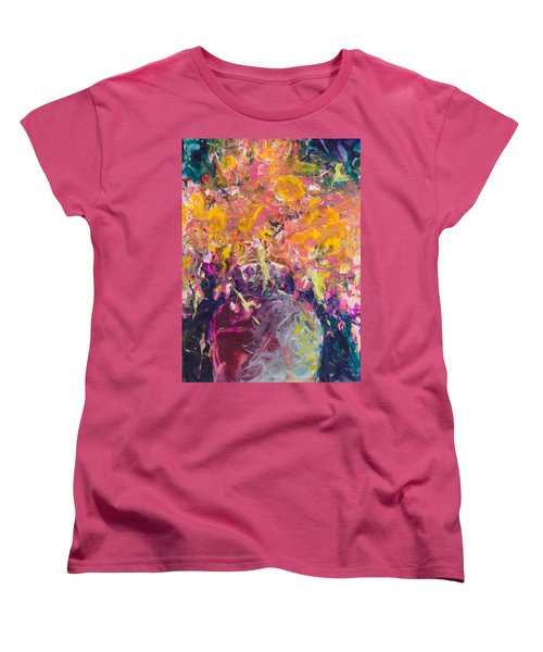 All Aglow Women's T-Shirt (Standard Cut) by Lee Beuther