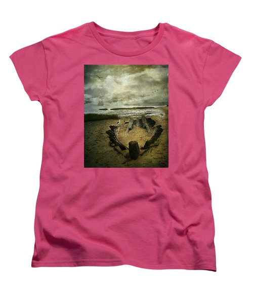 All That Remains Women's T-Shirt (Standard Cut) by Lianne Schneider