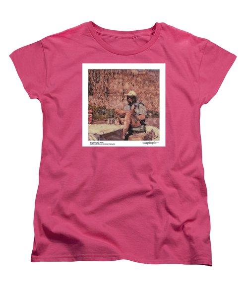 Altered Polaroid - Raft Master Matt Women's T-Shirt (Standard Cut) by Wally Hampton