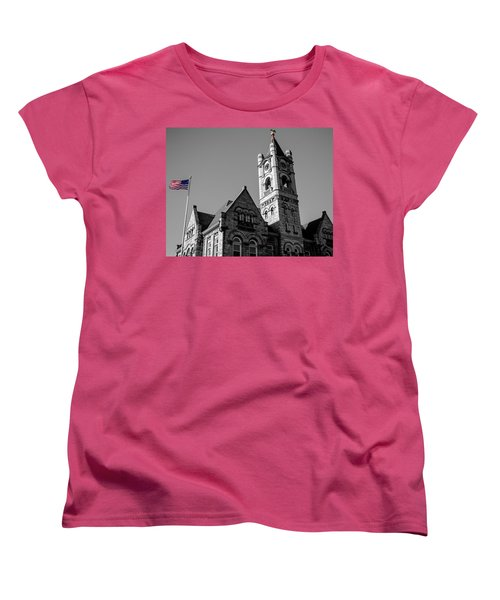 American Courthouse Women's T-Shirt (Standard Cut) by James  Meyer