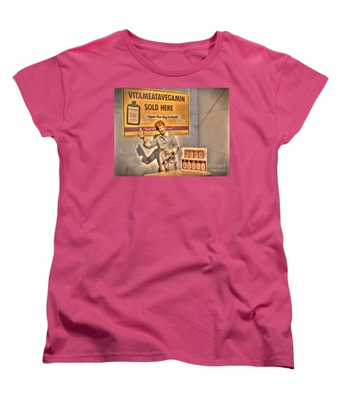 American Entertainment Icons - The First Lady Of Comedy Women's T-Shirt (Standard Cut) by Dan Stone