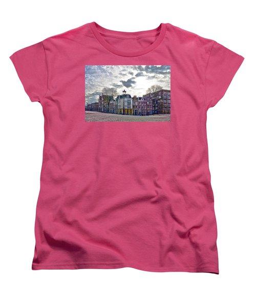 Amsterdam Bridges Women's T-Shirt (Standard Cut) by Frans Blok