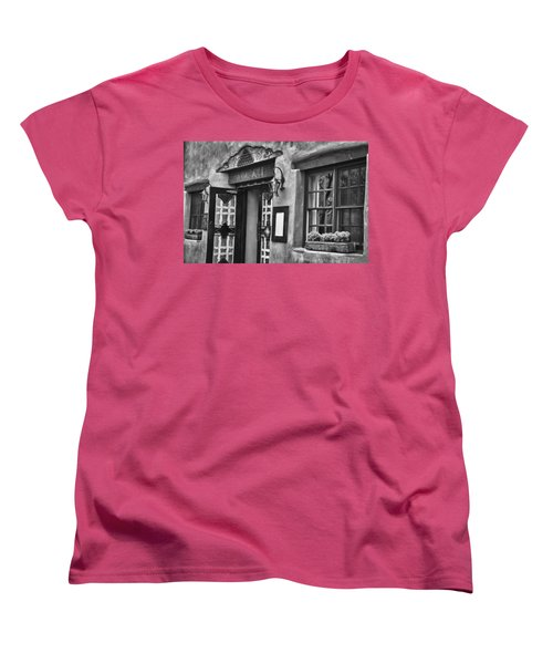 Women's T-Shirt (Standard Cut) featuring the photograph Anasazi Inn Restaurant by Ron White