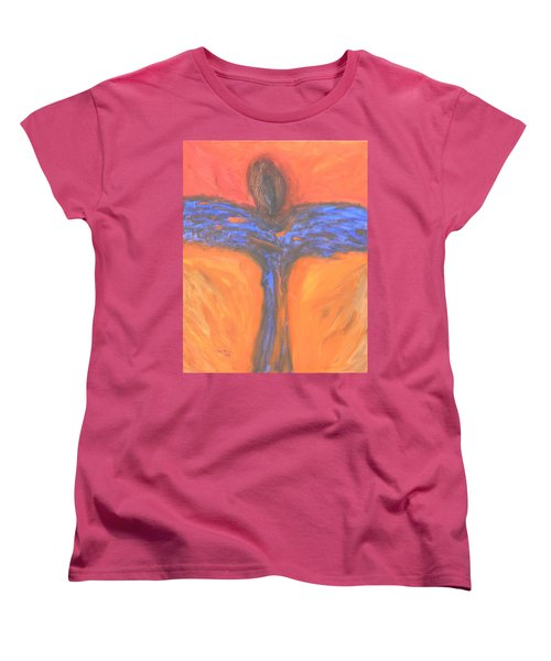 Angel Impression 1 Women's T-Shirt (Standard Cut) by Mark Minier