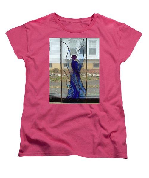 Angel  Women's T-Shirt (Standard Cut) by Karin Thue