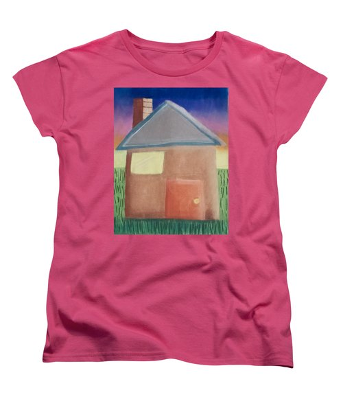 Home Sweet Home Women's T-Shirt (Standard Cut) by Joshua Maddison