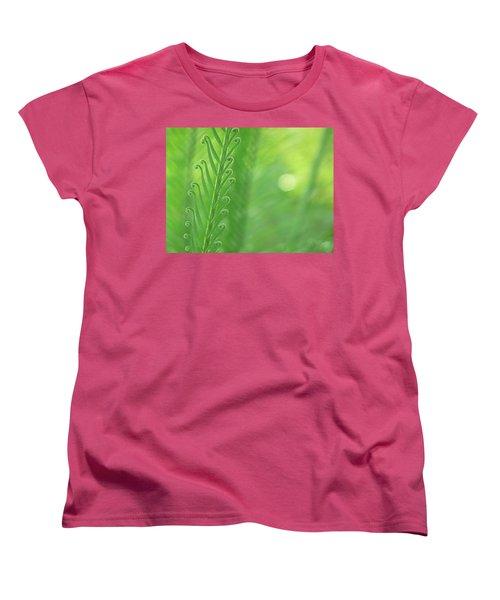 Arabesque Women's T-Shirt (Standard Cut) by Evelyn Tambour