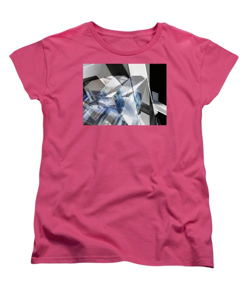 Architectural Abstract Women's T-Shirt (Standard Cut) by Wayne Sherriff