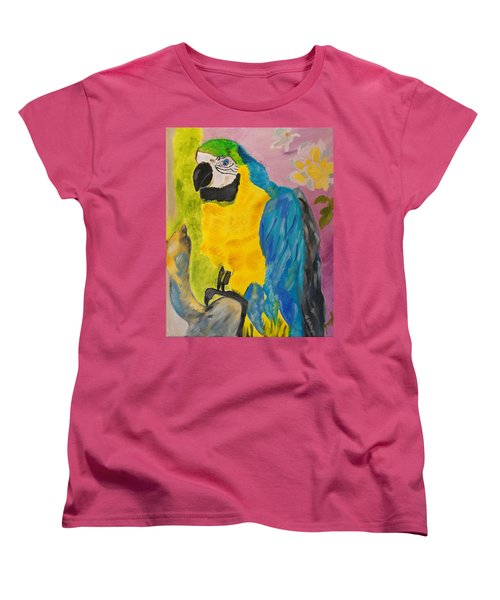 Women's T-Shirt (Standard Cut) featuring the painting Aren't I Beautiful? by Meryl Goudey