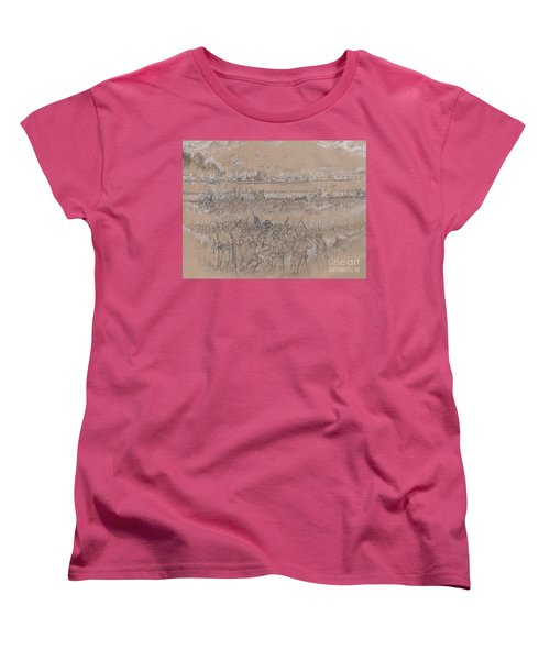 Armistead's Encouragement Women's T-Shirt (Standard Cut) by Scott and Dixie Wiley