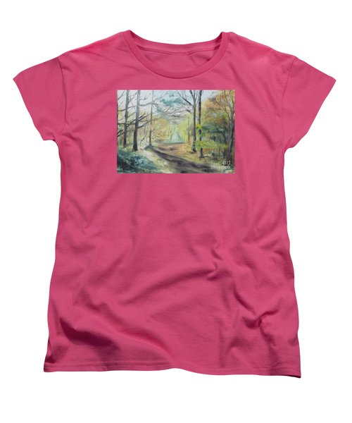 Ashridge Woods 2 Women's T-Shirt (Standard Cut) by Martin Howard