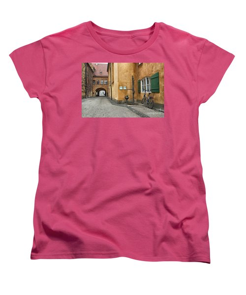 Women's T-Shirt (Standard Cut) featuring the photograph Augsburg Germany by Paul Fearn