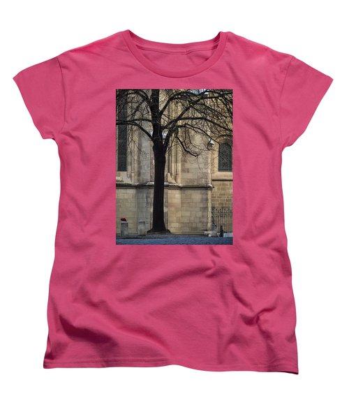 Autumn Silhouette Women's T-Shirt (Standard Cut) by Muhie Kanawati