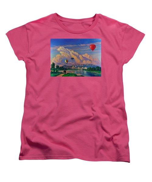 Ballooning On The Rio Grande Women's T-Shirt (Standard Cut)